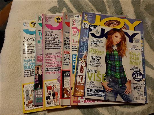 Joy časopisi, razni brojevi