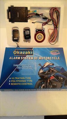 Alarm za motor+daljinsko paljenje
