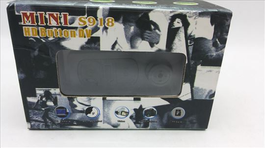 Mini HD DV špijun dugme kamera, akcija -HD Button