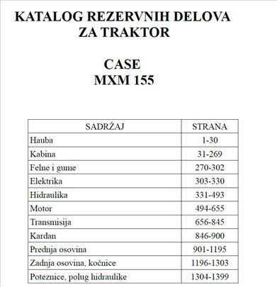 Case MXM 155 - Katalog delova