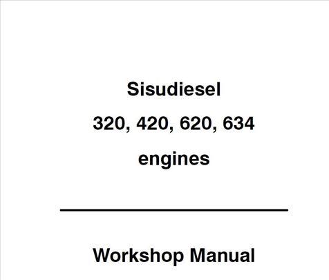 SISU motori - Radionički priručnici