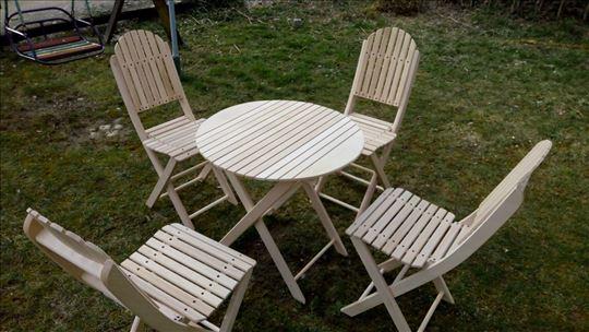 Sto+4 stolice, baštenska garnitura, hit cena