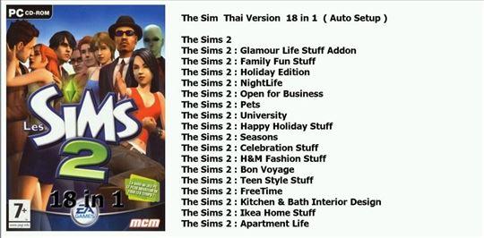 The Sims  kolekcija (čitaj opis)