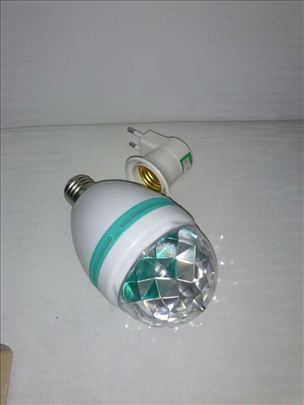 LED RGB rotirajuca sijalica E27