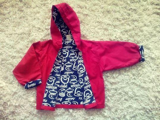 Prelepa nova jakna za decu, crvena nova