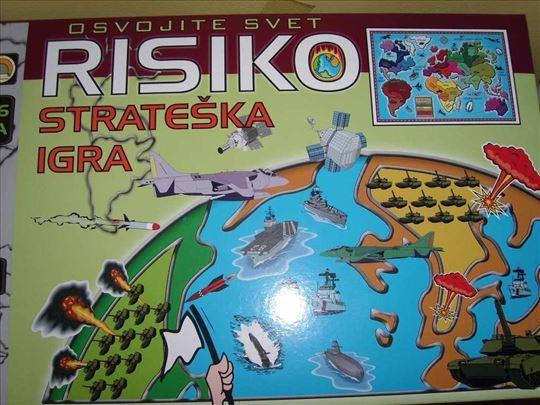 Risiko-riziko društvena igra-novo
