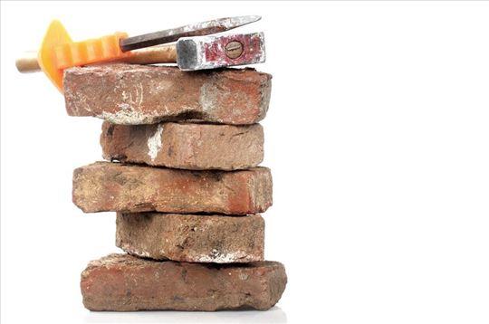 Unos - iznos građevinskog materijala