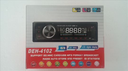 Auto radio Deh, akcija