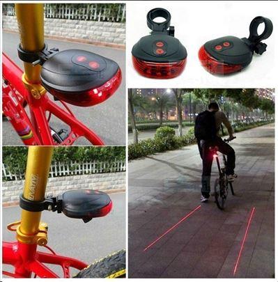 LED svetlo za bicikl sa laserom