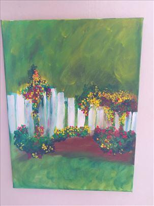Ograda u cveću