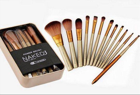Četkice za šminkanje Naked 3 Set 12