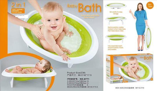 Kada za kupanje bebe prenosna
