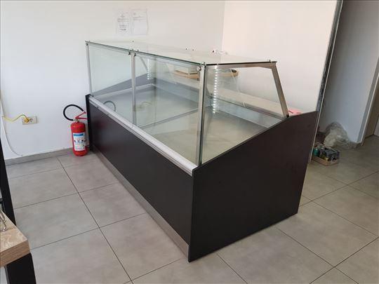Topla vitrina 2.2m