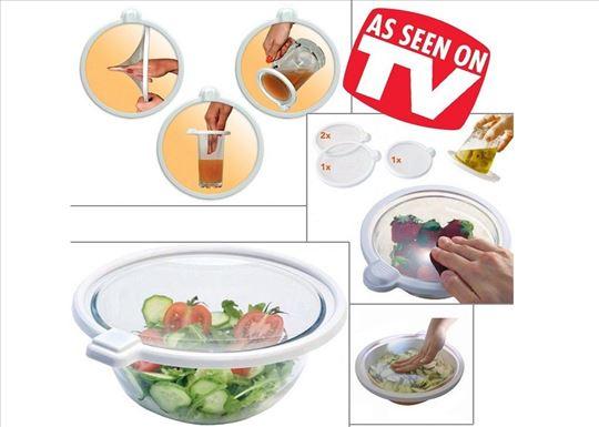 Vakuum poklopci za kuhinjsko posudje-Novo