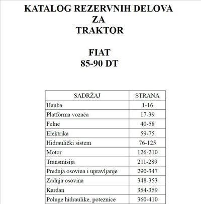 Fiat 85-90 DT - Katalog delova