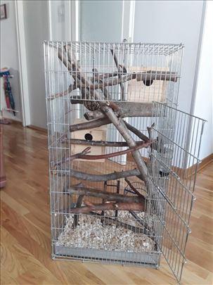 Prodajem kavez za vevericu, papagaja