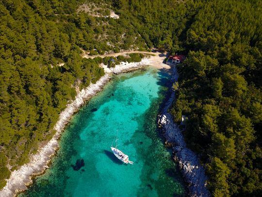 Hrvatska, Zavalatica (Korčula), kuća za odmor