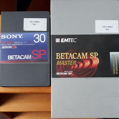 Presnimavanje BetaSP,DVCPRO25,DVCAM,DV,WHS,DVD