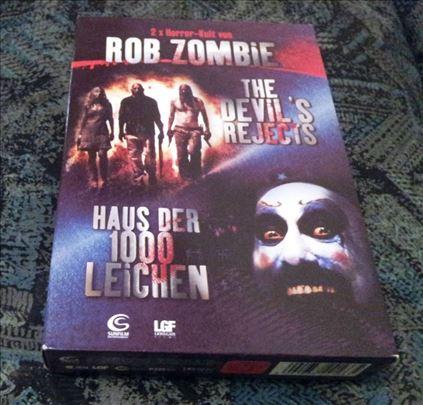 Rob Zombie - 2 Filma - Nemacki DVD