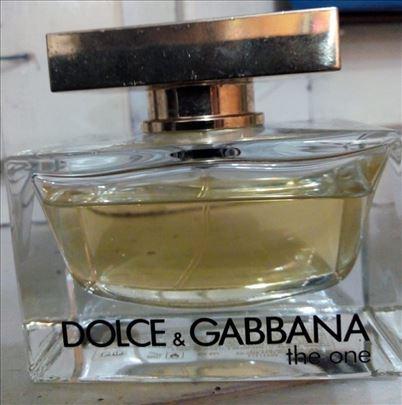 The One Dolce & Gabbana EDT, 75ml