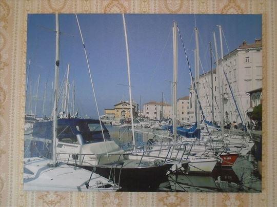 Уметничка фотографија на платну– Марина у Парину