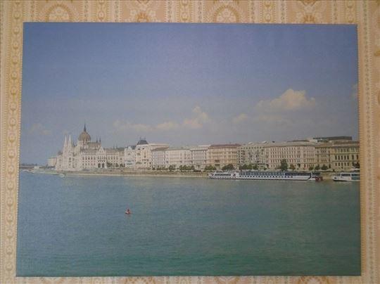 Уметничка фотографија на платну–Подне у Будимпешти