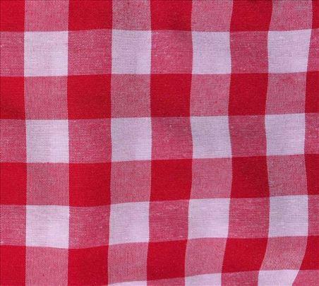 Kanafas crveni restlovi traka širine 50 cm
