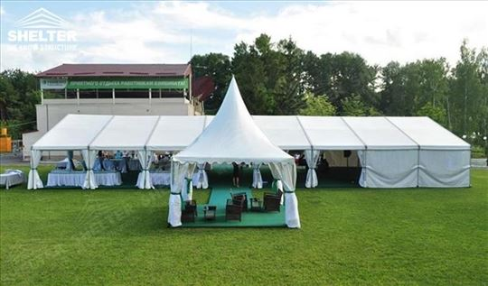 Iznajmljivanje šator za svadbe