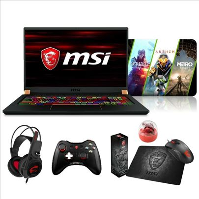 """MSI GS75 Stealth 17.3""""144Hz (3ms) Core i7-8750H RT"""