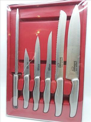 Noževi Solingen nerđajući 5 kom novo-inox