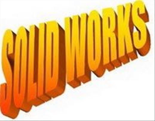 Solid works (SolidWORKS) časovi i izrada 3D modela
