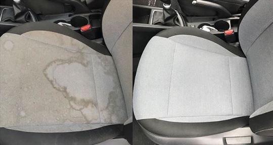 Dubinsko pranje vozila, tepiha i nameštaja