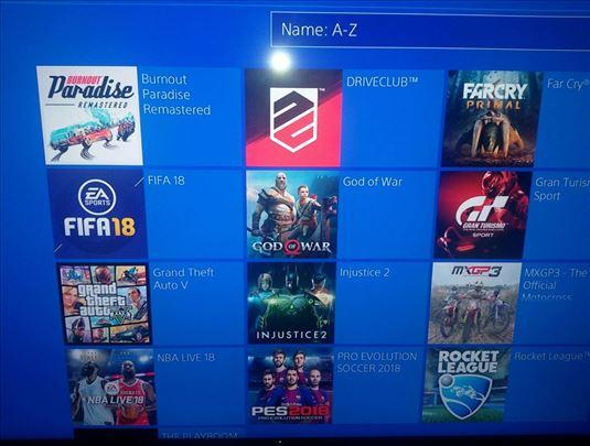 Instalacija čipovane igre za PS4 i PS3 konzole