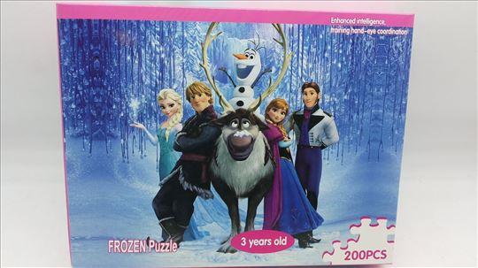 Puzle Frozen akcija-Puzle Frozen