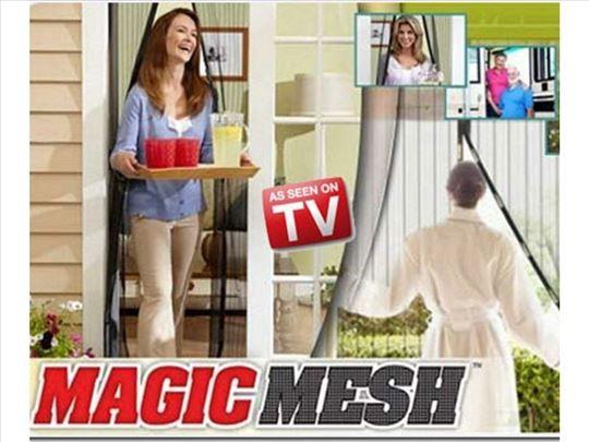 Magnetna zavesa za vrata-Magic Mesh zavesa