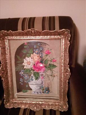 Prodajem Vilerov goblen Cveće