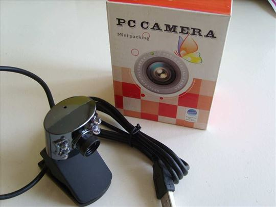 PC USB color kamera sa 6 dioda-Novo