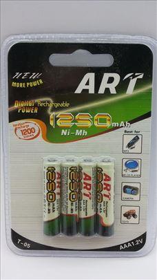 Art punjive baterije Ni-Mh 1250mAh novo-Art punjiv