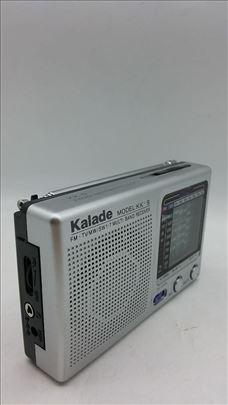 KK-9 radio na baterije akcija