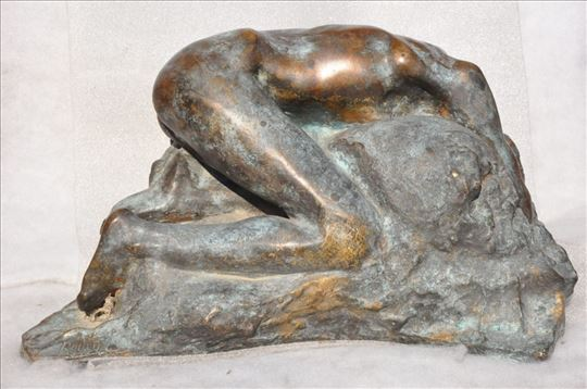 Rodin skulptura DANAIDA, bronza