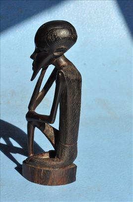 Statua muskarca, drvo, africka umetnost