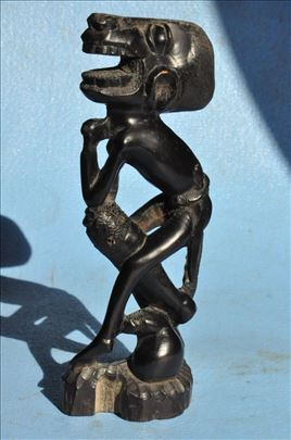 Statua velikog maga, drvo, africka umetnost