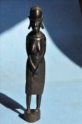 Statua zene, drvo, africka umetnost