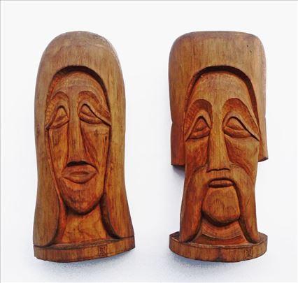 Skulpture u drvetu - Naivna umetnost, autor M. D.