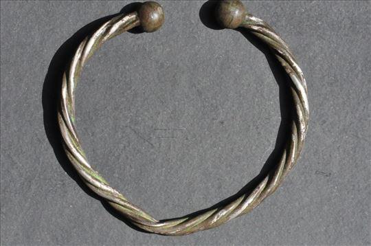 Keltska narukvica, srebro