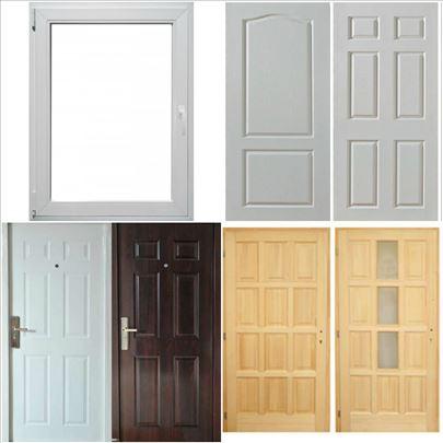 Sobna i sigurnosna vrata, prozori po meri