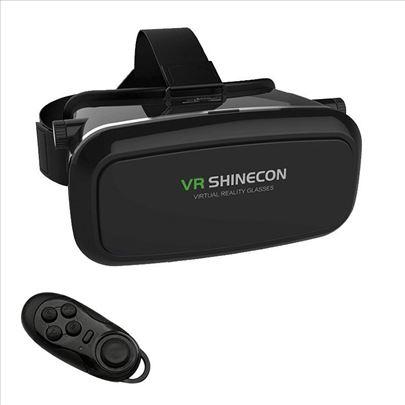 VR 3D virtualne naočare + kontroler VR Box naočare