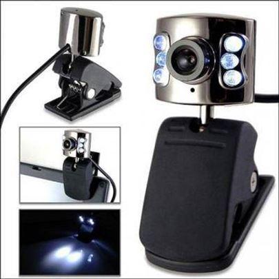 Web kamera sa LED diodama i mikrofonom