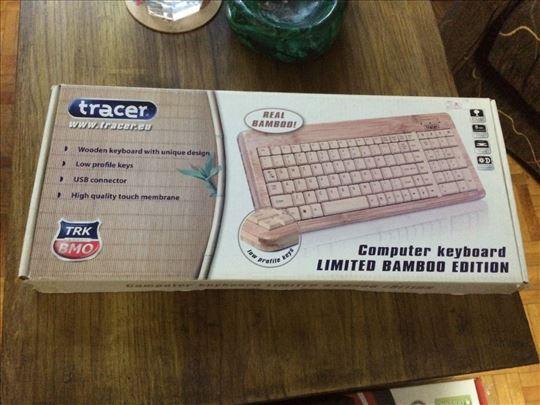Tastatura od bambusa novo