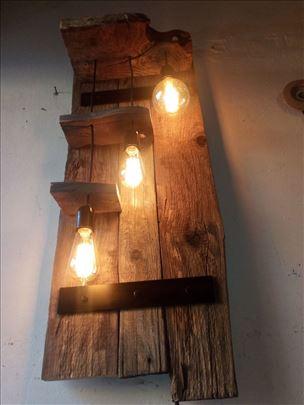 Zidna lampa rustic industrial retro Edison